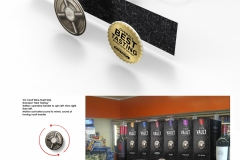 Vault Motion Sound Shelf Talker<br/>Motion activated, bi-directional motor simulates safe dial with realistic sound
